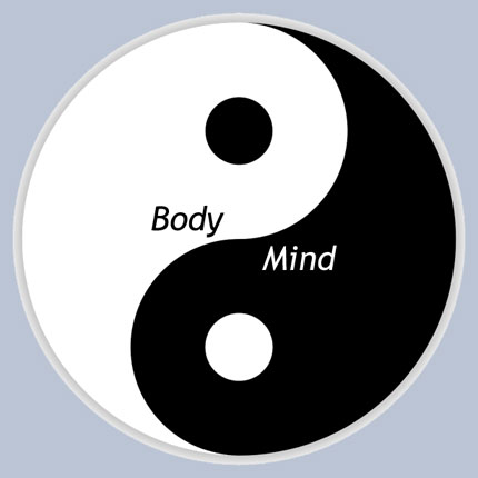 Bodymind seen as yin and yang